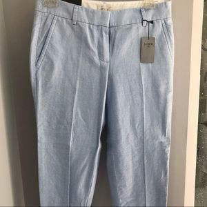 JCrew light blue length pants